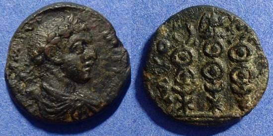 Ancient Coins - Cremna Pisidia:  Elagabalus 218-222  AE22
