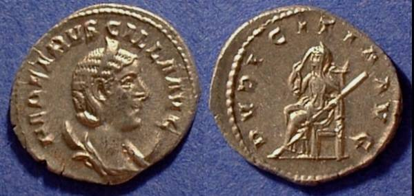 Ancient Coins - Etruscilla (Wife of Decius) 249-251 - Antoninianus