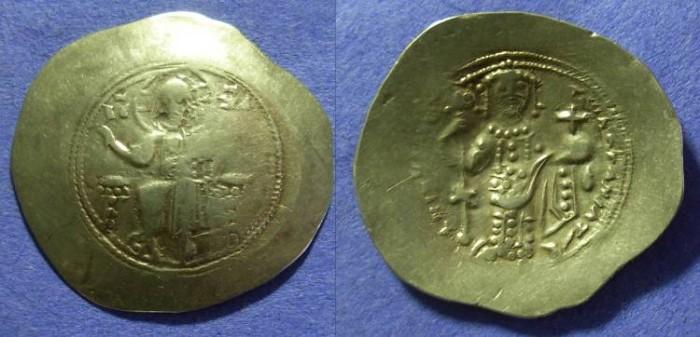 Ancient Coins - Nicephorus III 1078-1081 Electrum Stamenon Nomisma