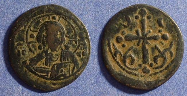 Ancient Coins - Byzantine Empire - Anonymous Follis - Class I 1078-81AD