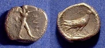Ancient Coins - Sybaris Lucania - Triobol 453-448BC