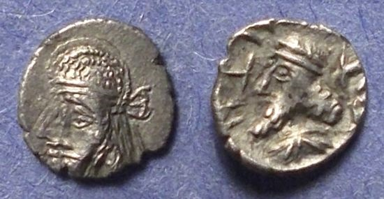 Ancient Coins - Persis, Napad Circa 100 AD, Obol