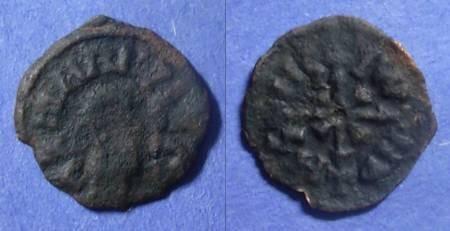 Ancient Coins - Axum, Wazena 525-550, AE16