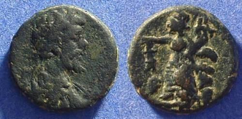 Ancient Coins - Damascus Syria - Septimius Severus 193-211AD AE18