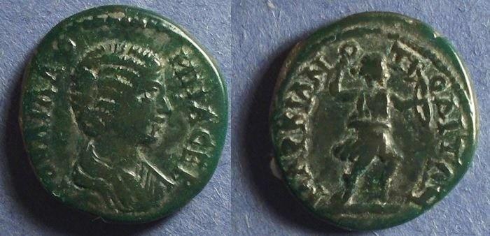 Ancient Coins - Marcianopolis, Moesia Inferior, Julia Domna 193-217, AE22