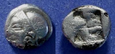 Ancient Coins - Phokaia, Ionia Circa 500 BC, Fourree trihemiobol