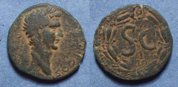 Ancient Coins - Antioch Syria, Nerva 96-98, AE26