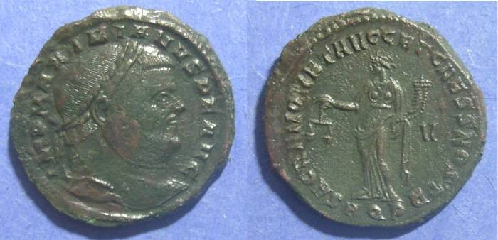 Ancient Coins - Roman Empire, Maximianus 286-305 AD, Follis