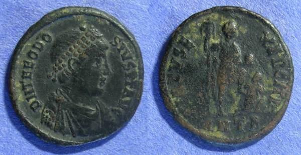 Ancient Coins - Theodosius 378-395 AE2