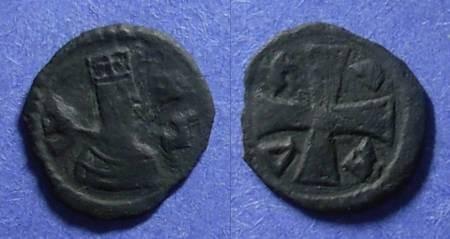 Ancient Coins - Axum, Joel Circa 600 AD, AE13