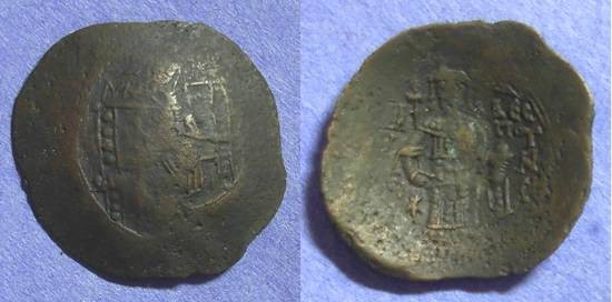 Ancient Coins - Byzantine Empire Issac II 1185 - 1195 - Trachy