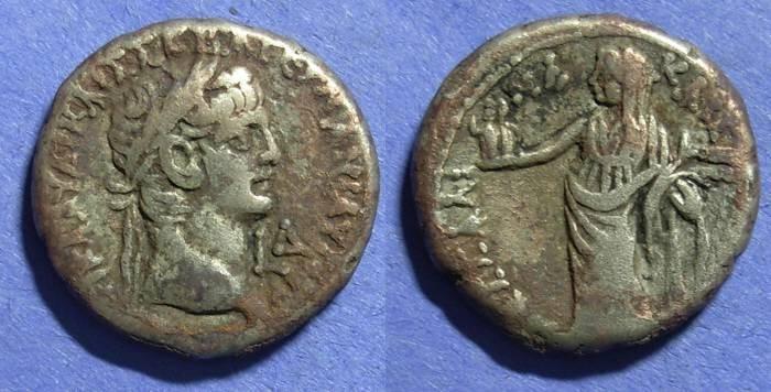 Ancient Coins - Roman Egypt, Claudius 41-54, Tetradrachm