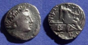 Ancient Coins - Histiaea, Euboea Circa 200 BC, Tetrobol