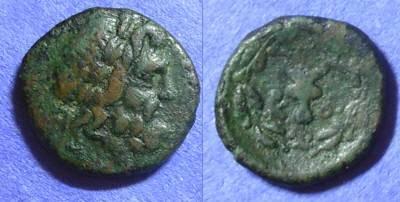 Ancient Coins - Corcyra – AE17 Circa 229-48 BC