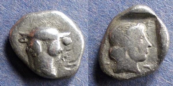 Ancient Coins - Phokis, Federal coinage 445-420 BC, Hemidrachm