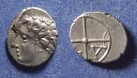 Ancient Coins - Gaul, Massalia Circa 100 BC, Obol