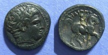 Ancient Coins - Macedonian Kingdom, Philip II 359-336 BC, Double Unit