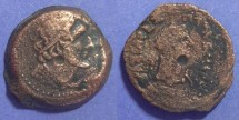Ancient Coins - Egypt, Ptolemy V 205-180 BC, AE27