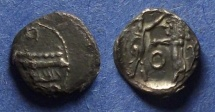 Ancient Coins - Phoenicia, Sidon, Ba'alshillem II 346-343 BC, Fouree 1/16 Shekel