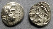 Ancient Coins - Achaean League, Patrai 88-30 BC, Hemidrachm