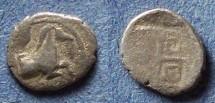 Ancient Coins - Thraco-Macedonian, Uncertain Circa 400 BC, Hemiobol