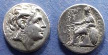 Ancient Coins - Kings of Thrace, Lysimachos 305-281 BC, Tetradrachm
