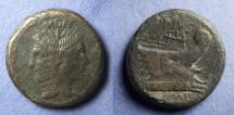 Roman Imperatorial, Sextus Pompey 42-38 BC, Aes
