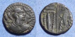 Ancient Coins - Alkhan-Nezak Crossover,  Circa 600, Billon Drachm