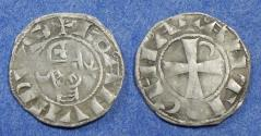 Ancient Coins - Crusader Antioch, Bohemond III 1163-1201, Denier