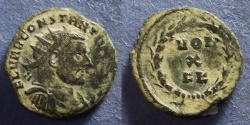 Ancient Coins - Roman Empire, Constantius I (as Caesar) 293-305, Radiate Fraction