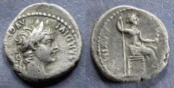 Ancient Coins - Roman Empire, Tiberius 14-37, Denarius