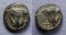 Ancient Coins - Islands off of Caria, Rhodes Circa 200 BC, AE 9.5