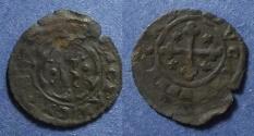World Coins - Kingdom of Sicily, Charles of Anjou 1266-82, Denaro