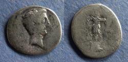 Ancient Coins - Roman Empire, Octavian (AKA Augustus) Struck 30-29 BC, Denarius