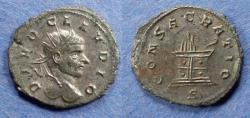 Ancient Coins - Roman Empire, Divo Claudius II d. 270, Antoninianus