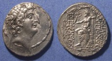 Ancient Coins - Seleucid Kingdom, Antiochos VIII 121-96 BC, Tetradrachm