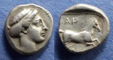 Ancient Coins - Thessaly, Larissa Circa 404 BC, Drachm