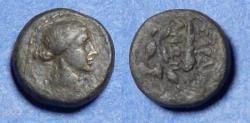 Ancient Coins - Lydia, Sardes Circa 100 BC, Bronze AE14