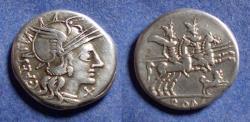 Ancient Coins - Roman Republic, C Antestia 146 BC, Denarius