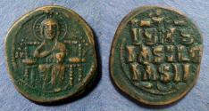 Ancient Coins - Byzantine Empire, Anonymous class D 1042-55, Follis