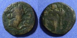 Ancient Coins - Spain, Carteia 1st Cent BC, AE20