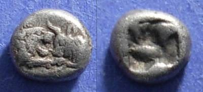 Ancient Coins - Lydia, Croesus ( Kroisos ) 561-546 BC, 1/12 Stater
