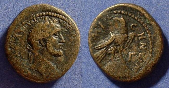 Ancient Coins - Antoninus Pius 138-161AD AE22 of Emisa
