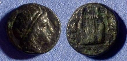 Ancient Coins - Kolophon Ionia - AE12 Circa 300 BC