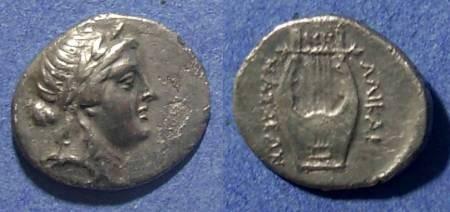 Ancient Coins - Halicarnassos, Caria 300-150 BC`, Hemidrachm