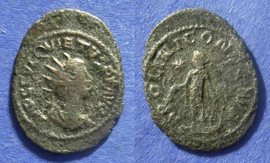 Ancient Coins - Roman Empire Quietus 260-1 Antoninianus