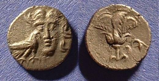 Ancient Coins - Rhodian Peraia - Drachm - Circa 3rd-2nd century BC