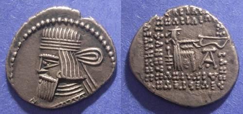 Ancient Coins - Parthian Kingdom, Artabanos III 10-38 AD, Drachm