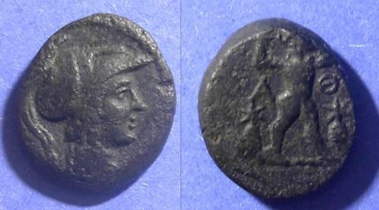 Ancient Coins - Athens, Attica 99/98 BC, AE17