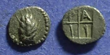 Ancient Coins - Tragilos, Macedonia, Hemiobol  450-410BC